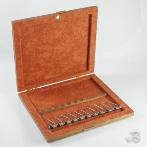Coffret bois pour anches de hautbois et de cor anglais