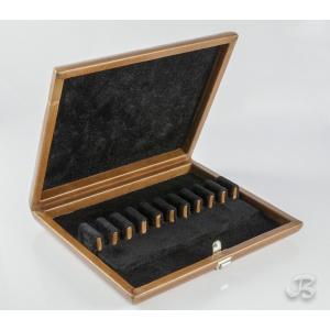 Coffret cuir pour 10 anches de hautbois